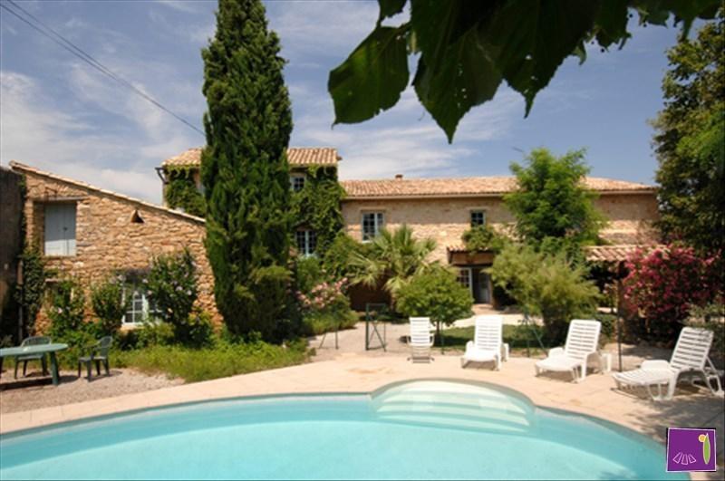 Vente de prestige maison / villa Goudargues 505000€ - Photo 1