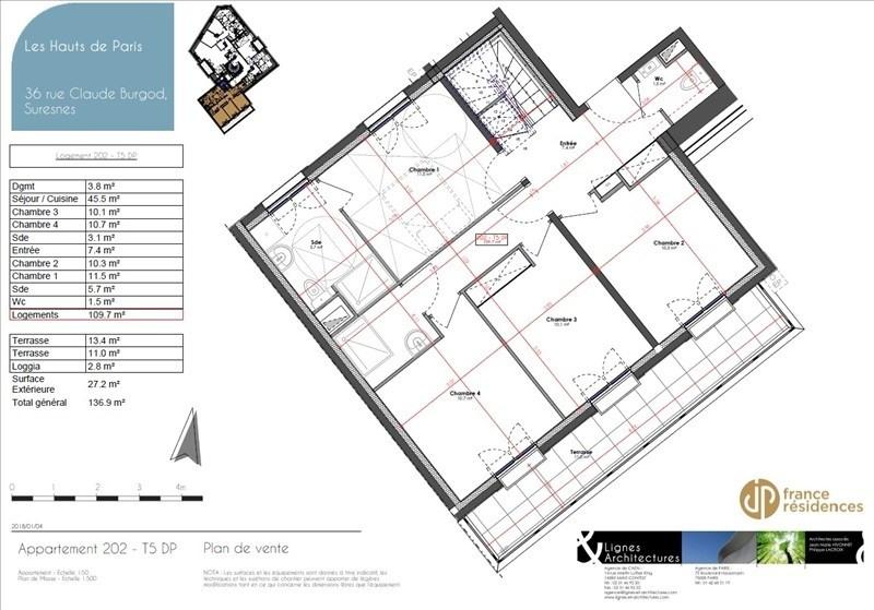 Sale apartment Suresnes 995000€ - Picture 8