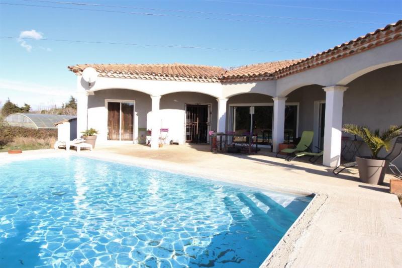 Vente maison / villa Jonquières saint vincent 323000€ - Photo 2