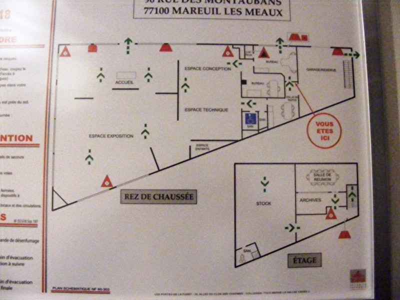 Location local commercial Mareuil les meaux 8 300€ +CH/ HT - Photo 2