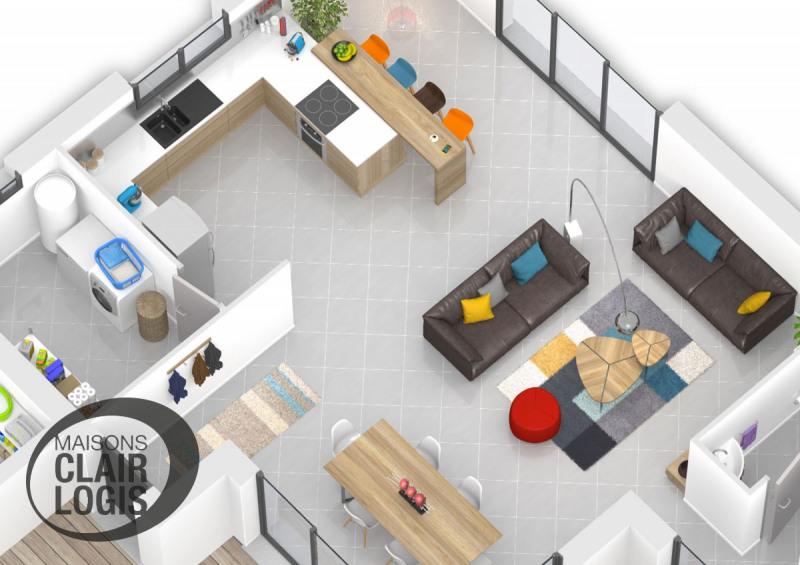 Maison  5 pièces + Terrain 1026 m² Le Fauga par MAISONS CLAIR LOGIS TOULOUSE-SUD