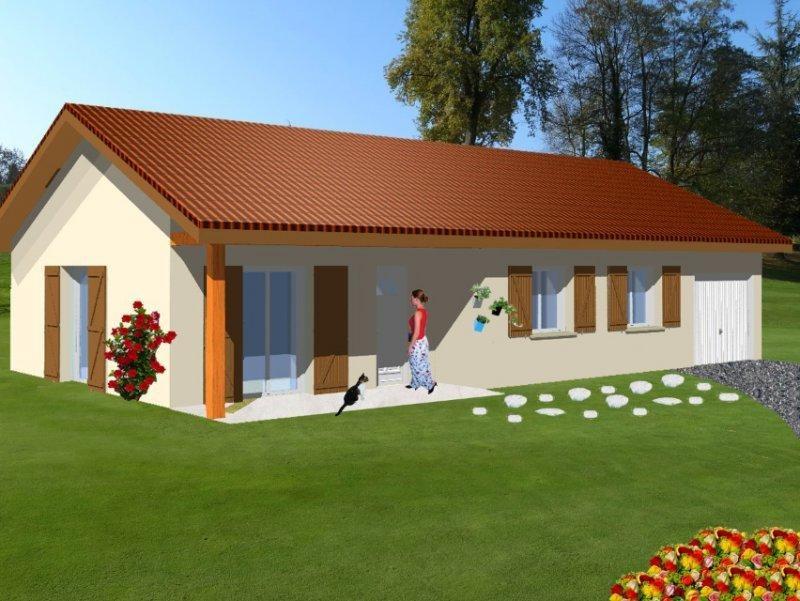 Maison  5 pièces + Terrain Chambery par Design Batiment Maximmo
