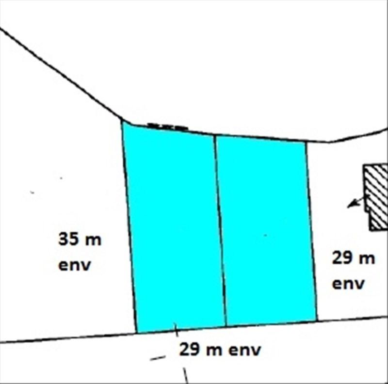 Vente terrain Audierne 21500€ - Photo 2