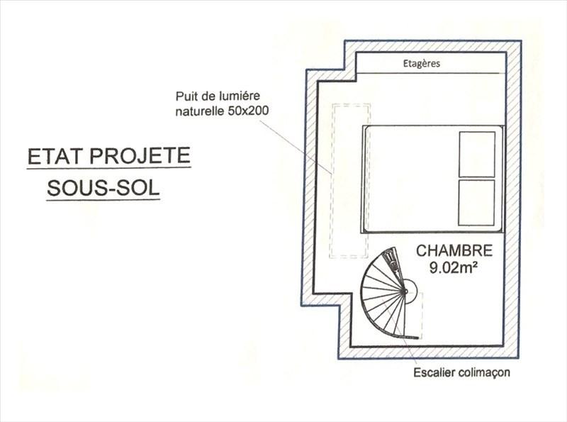 Vente appartement Paris 20ème 265000€ - Photo 2