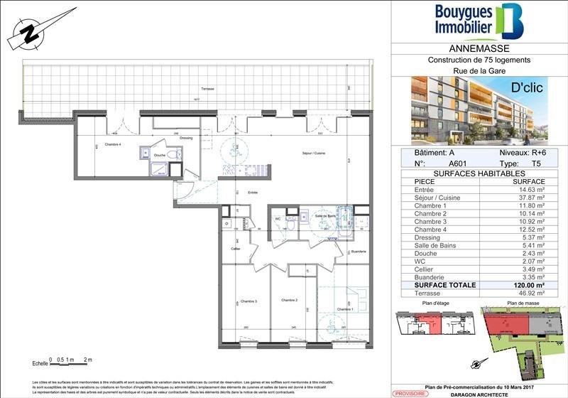Deluxe sale apartment Annemasse 606000€ - Picture 2