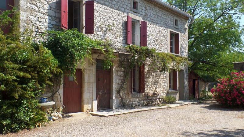 Vente maison / villa Saint-remèze 350000€ - Photo 1