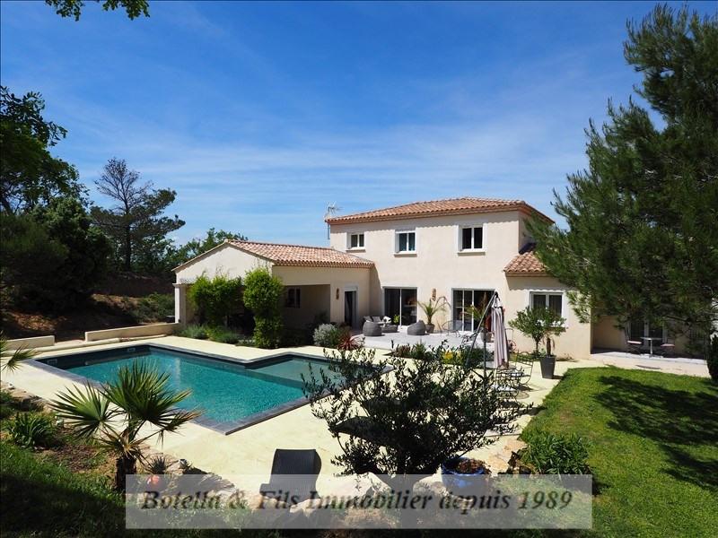 Vente de prestige maison / villa St paulet de caisson 480000€ - Photo 1