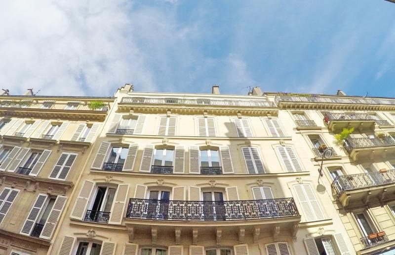 Vente appartement Paris 9ème 410000€ - Photo 1