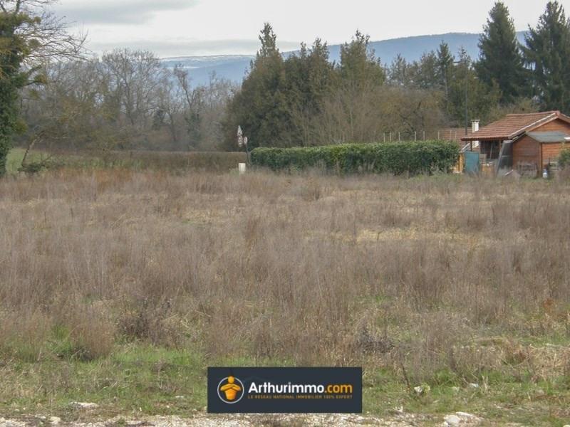 Vente terrain Morestel 77000€ - Photo 2