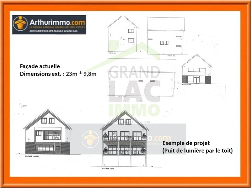 Vente immeuble Albens 220 000€ - Photo 1