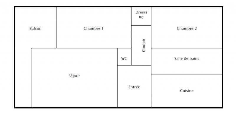 Rental apartment Franconville 830€ CC - Picture 2