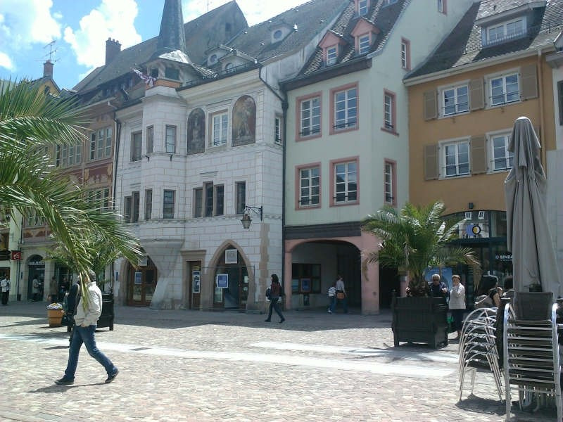 Rental apartment Mulhouse 400€ CC - Picture 2