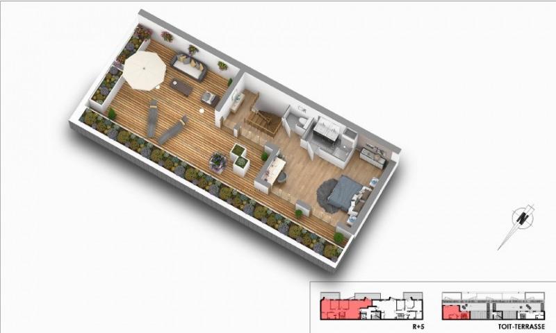 Sale apartment Courbevoie 1242000€ - Picture 3