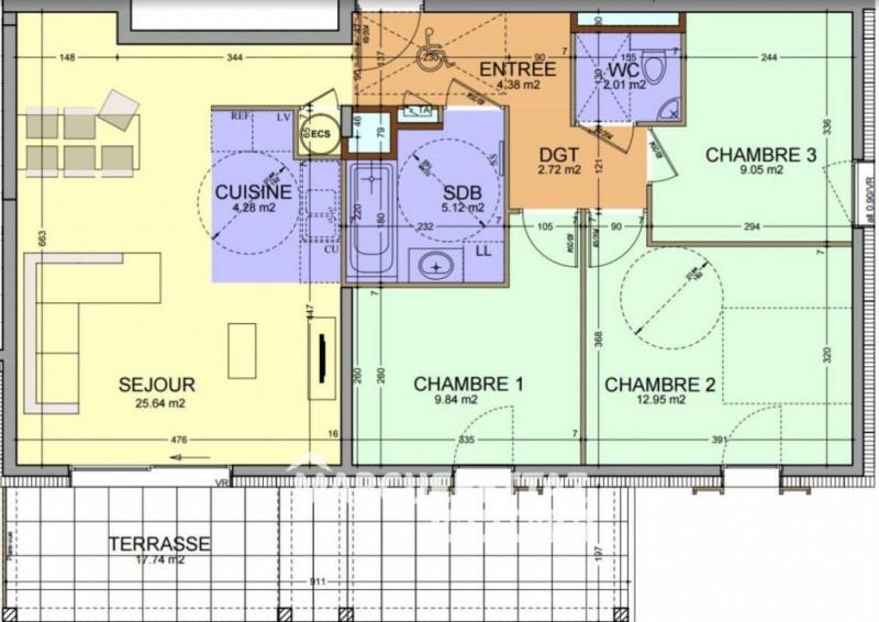 Sale apartment Faucigny 295000€ - Picture 2