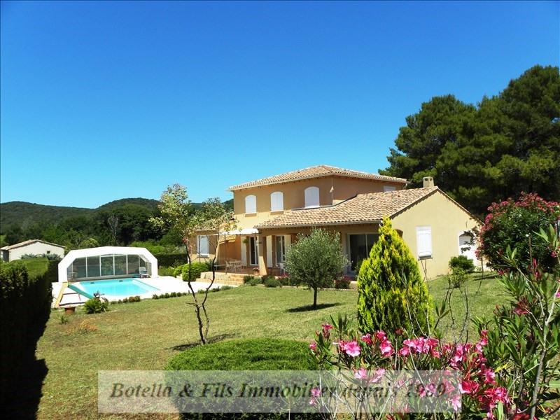 Vente maison / villa Goudargues 456000€ - Photo 1