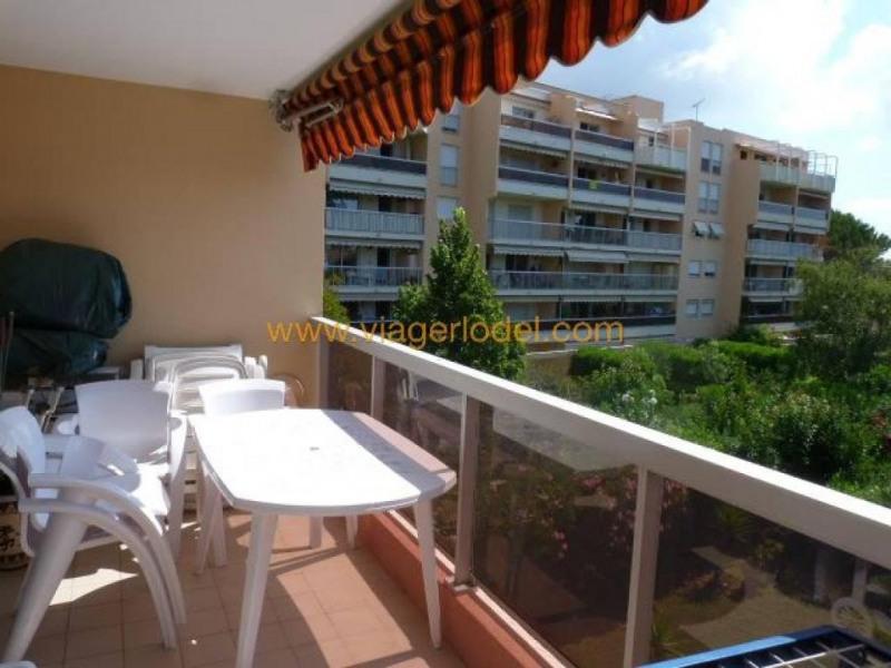 Viager appartement Golfe-juan 113000€ - Photo 1