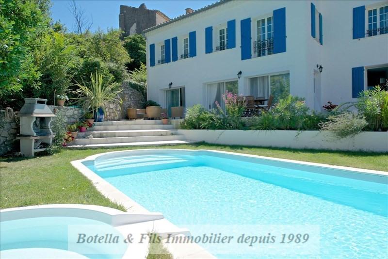 Vente de prestige maison / villa Uzes 576600€ - Photo 1