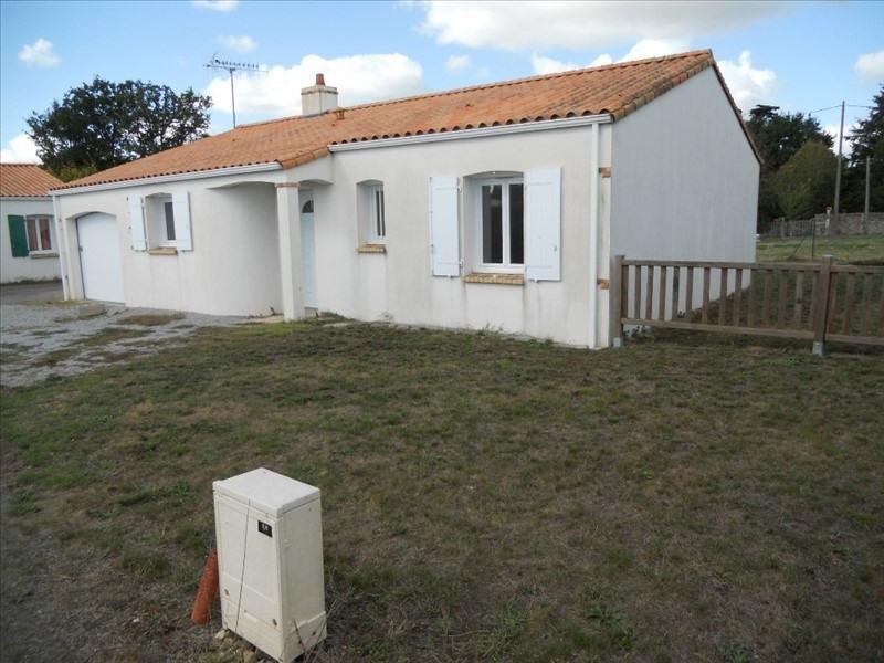 Vente maison / villa La chapelle palluau 153000€ - Photo 1