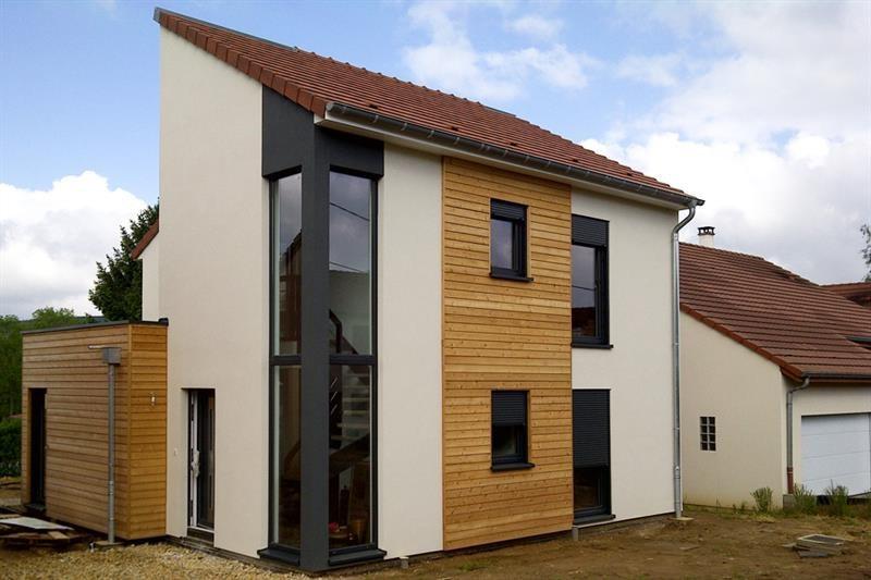 """Modèle de maison  """"Maison bois haute performance"""" à partir de 5 pièces Vosges par INNOV'HABITAT"""