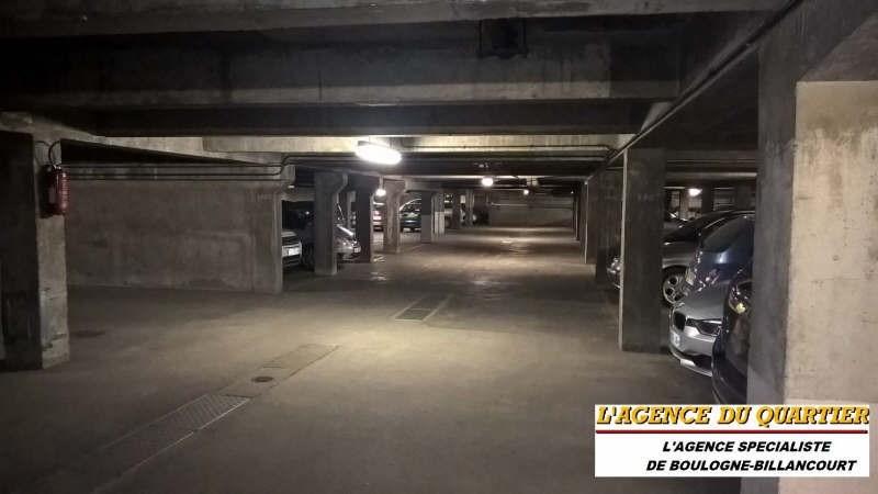 Locação estacionamento Boulogne billancourt 95€ CC - Fotografia 2