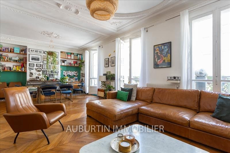 Vente de prestige appartement Paris 18ème 960000€ - Photo 4