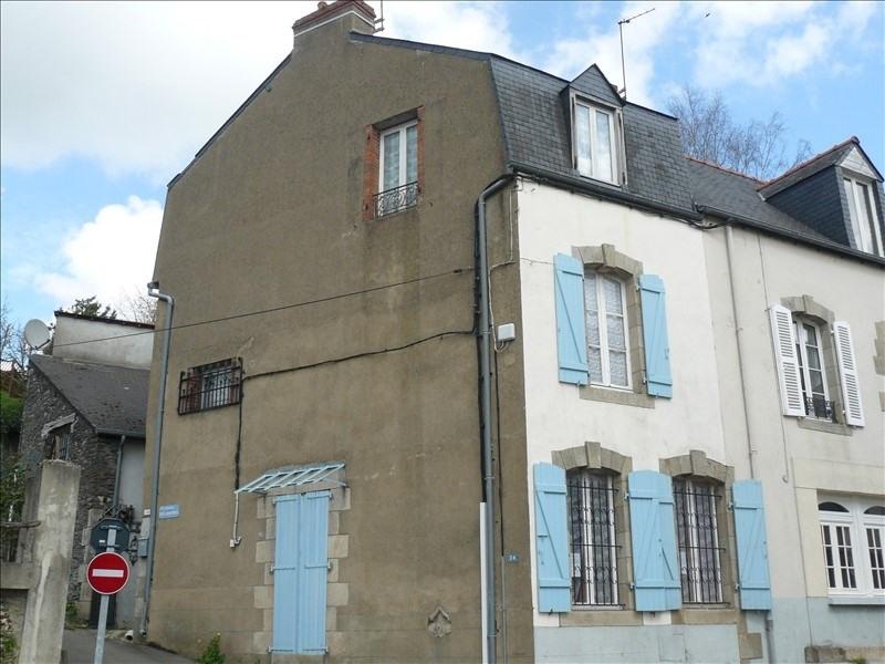 Vente maison / villa Josselin 119800€ - Photo 1