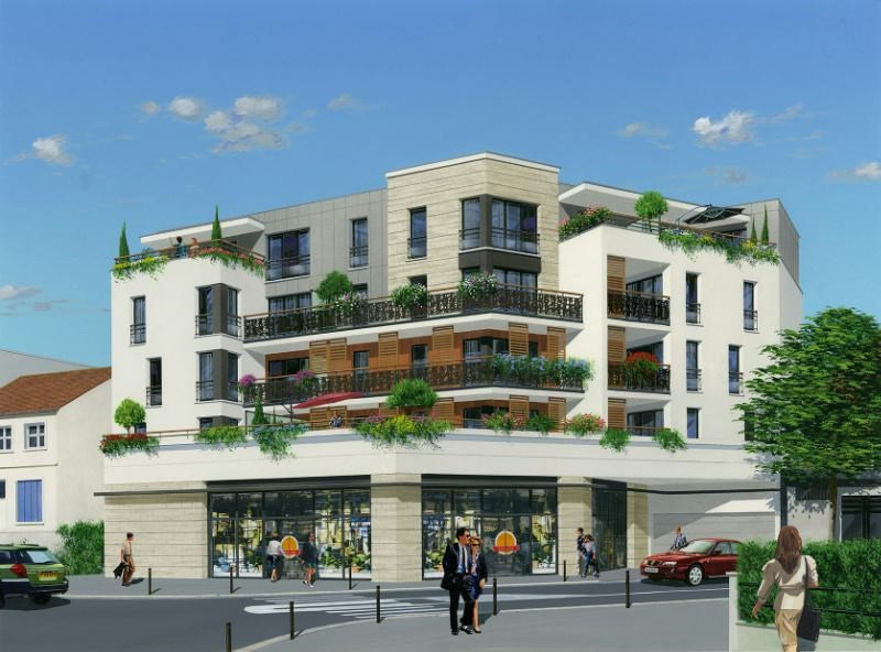 R sidence bl riot programme immobilier neuf romainville for Residence immobilier