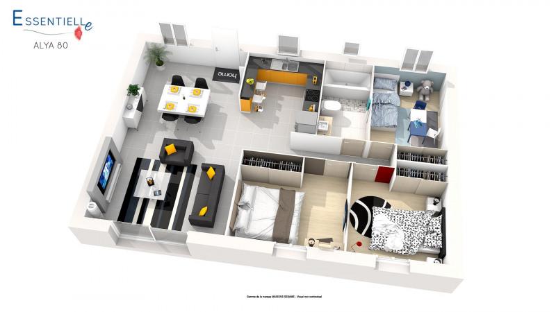 Maison  5 pièces + Terrain 497 m² Brétigny-sur-Orge par MAISONS SESAME
