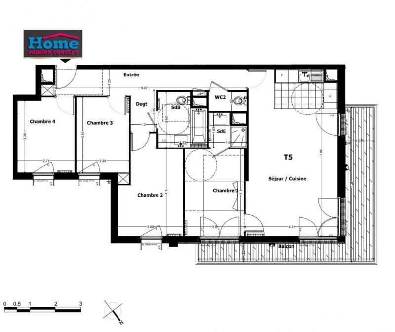 Vente appartement Rueil malmaison 648000€ - Photo 1
