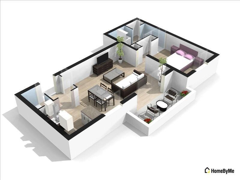 Vente appartement Annecy le vieux 180000€ - Photo 2