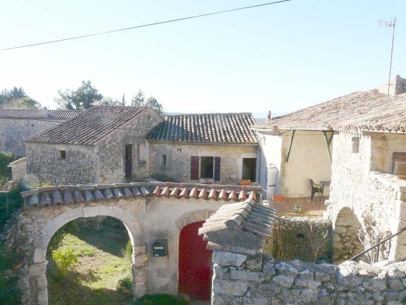 Sale house / villa Lussan 119000€ - Picture 1