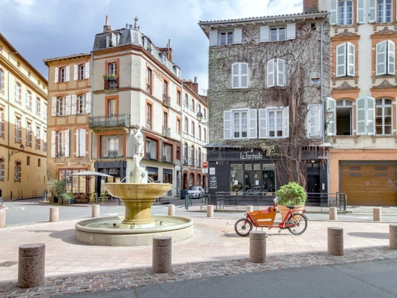 Rental apartment Toulouse 520€ CC - Picture 1