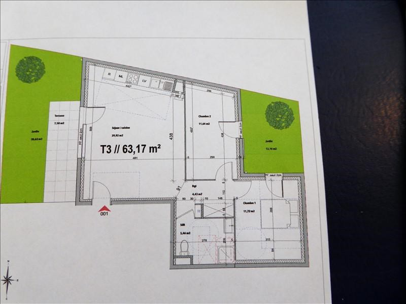 Vente appartement Luzinay 183000€ - Photo 3