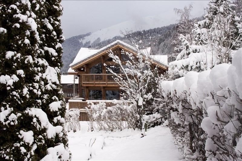 Deluxe sale house / villa Morzine 1850000€ - Picture 1