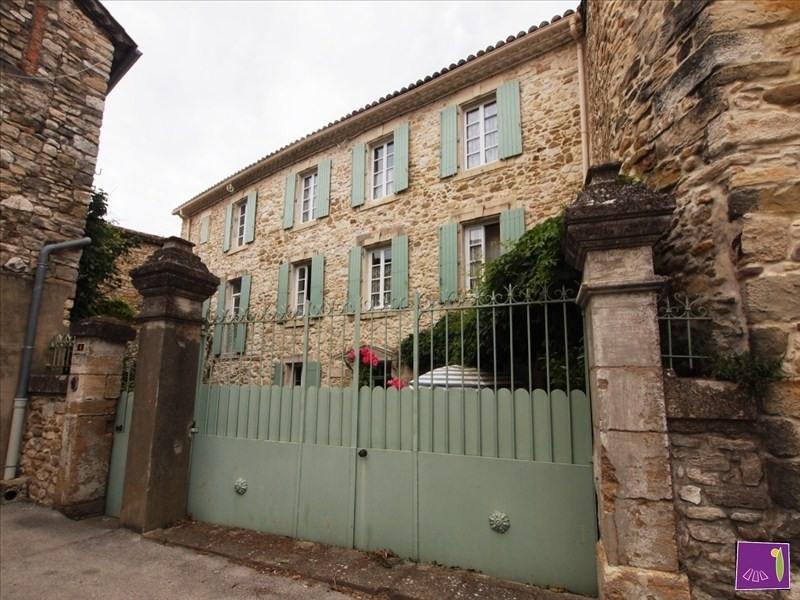 Vendita casa Uzes 472000€ - Fotografia 1