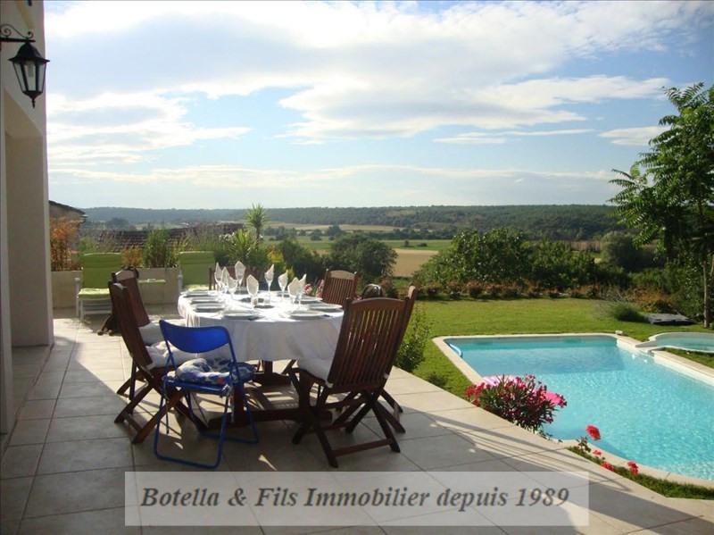 Vente de prestige maison / villa Uzes 576600€ - Photo 8
