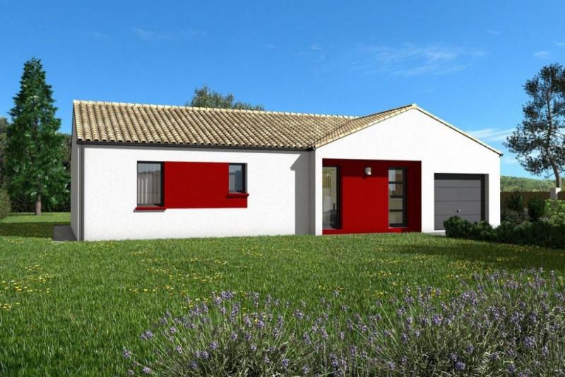 Maison  4 pièces + Terrain 1200 m² Saint-Macaire-du-Bois par maisons PRIMEA