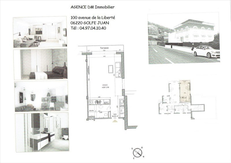 Investment property apartment Nice 238000€ - Picture 1