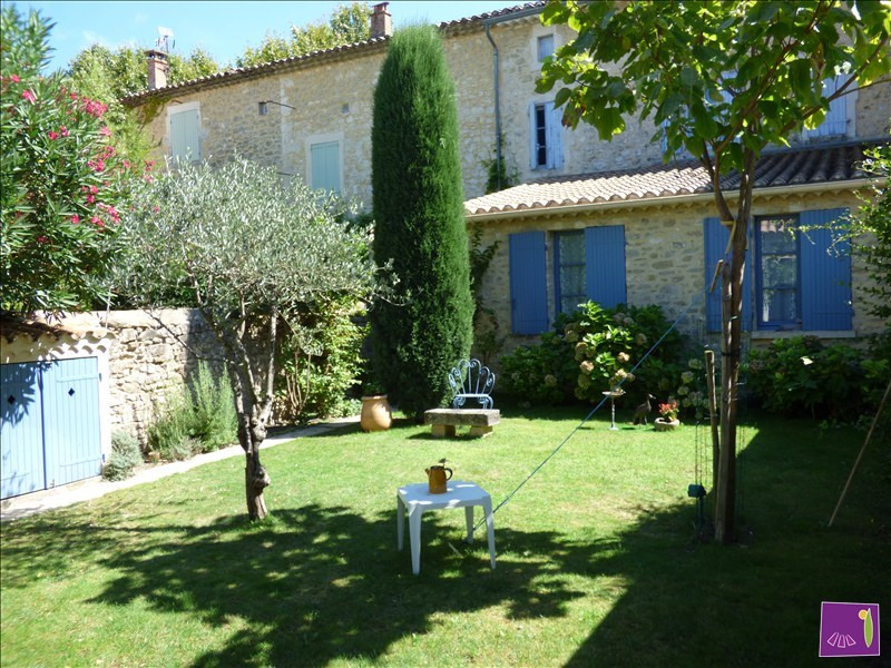 Vente maison / villa Goudargues 299 900€ - Photo 1