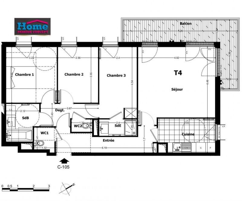 Vente appartement Rueil malmaison 560000€ - Photo 1