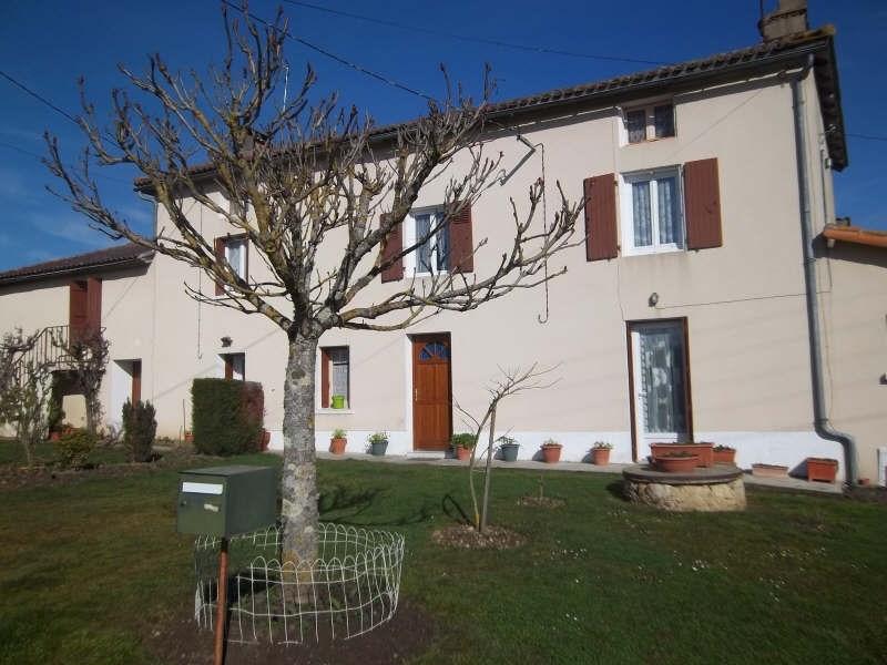 Vente maison / villa Queaux 138000€ - Photo 1