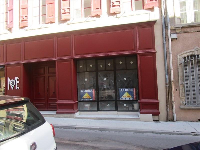 Rental empty room/storage Carcassonne 595€ HT/HC - Picture 1