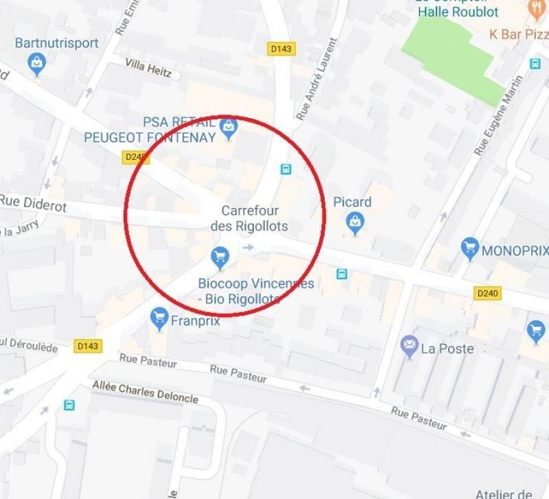 Rental shop Fontenay sous bois 1400€ HT/HC - Picture 1