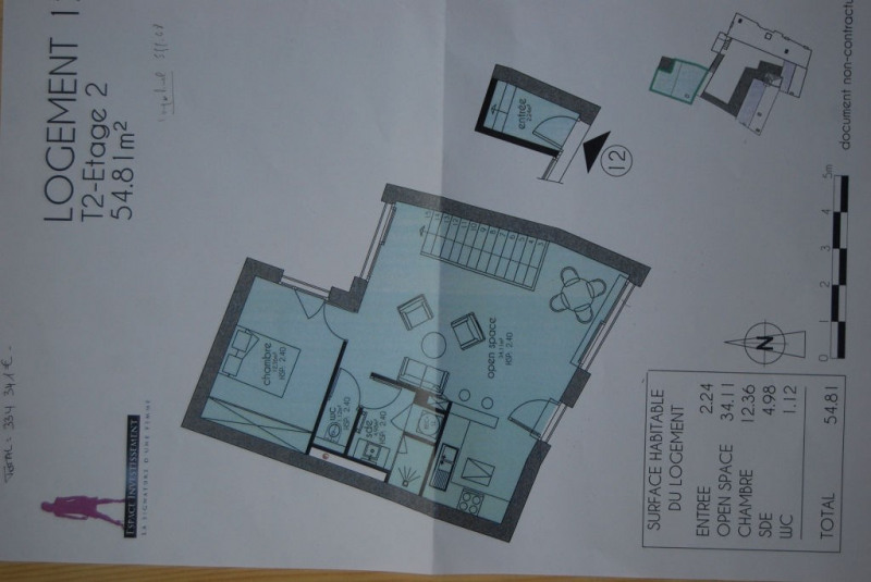 Vente appartement La rochelle 334341€ - Photo 2