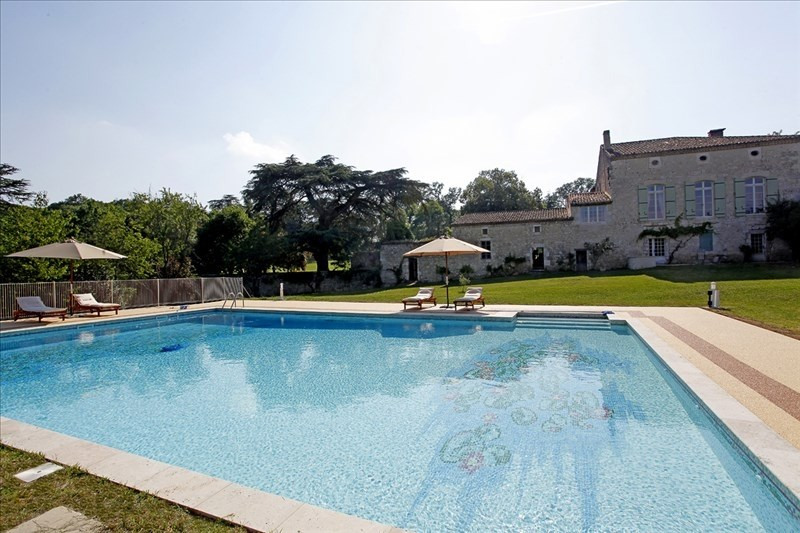 Deluxe sale house / villa Laroque timbaut 1352000€ - Picture 10