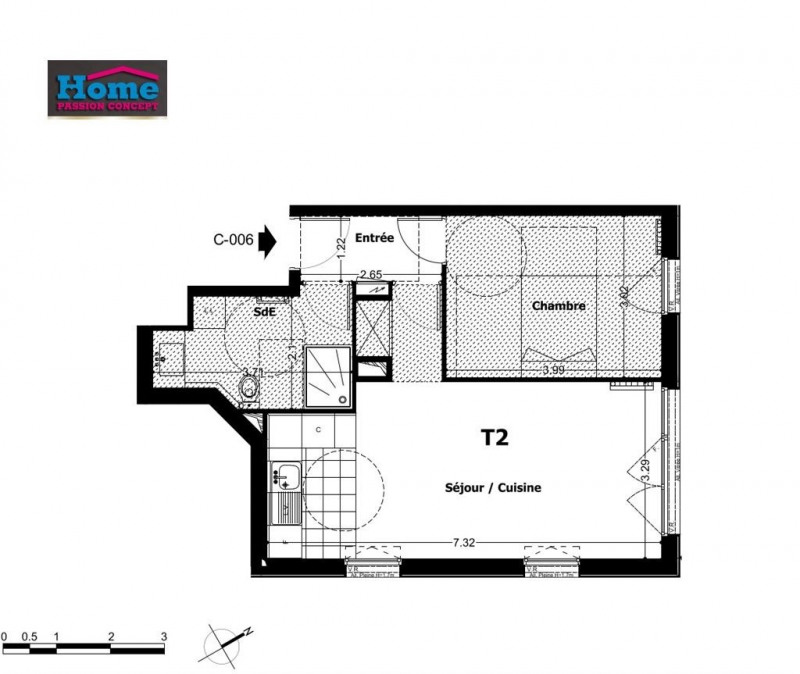 Vente appartement Rueil malmaison 296000€ - Photo 1