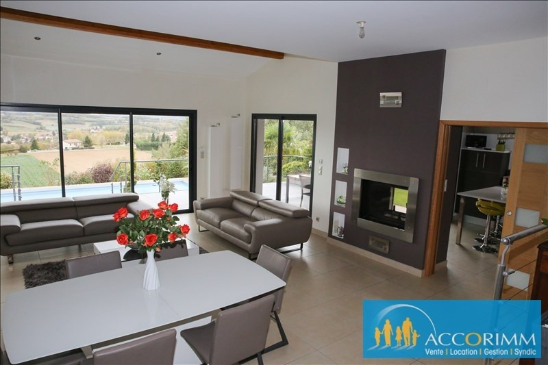 Deluxe sale house / villa Communay 916000€ - Picture 2