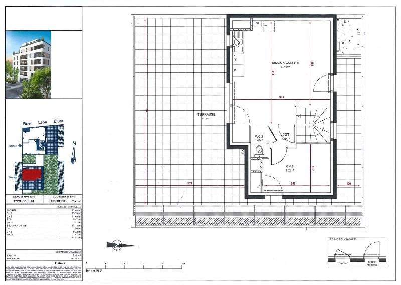 Venta  apartamento Villeurbanne 385000€ - Fotografía 2