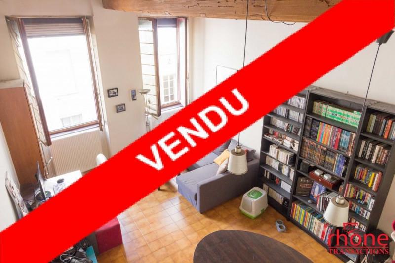 Sale apartment Lyon 1er 175000€ - Picture 1