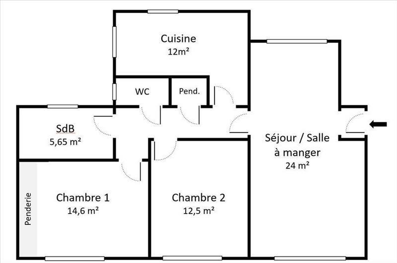 Sale apartment Asnieres sur seine 485000€ - Picture 6